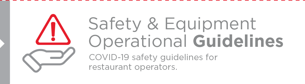 Safety & Operational Guidelines - COVID-19 safety guidelines for restaurant partners.